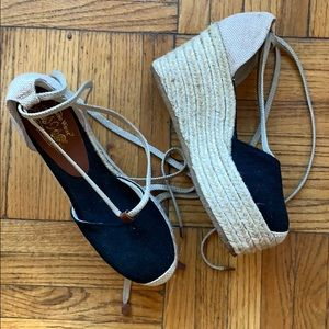 Nine West Platform Espadrille Wedges